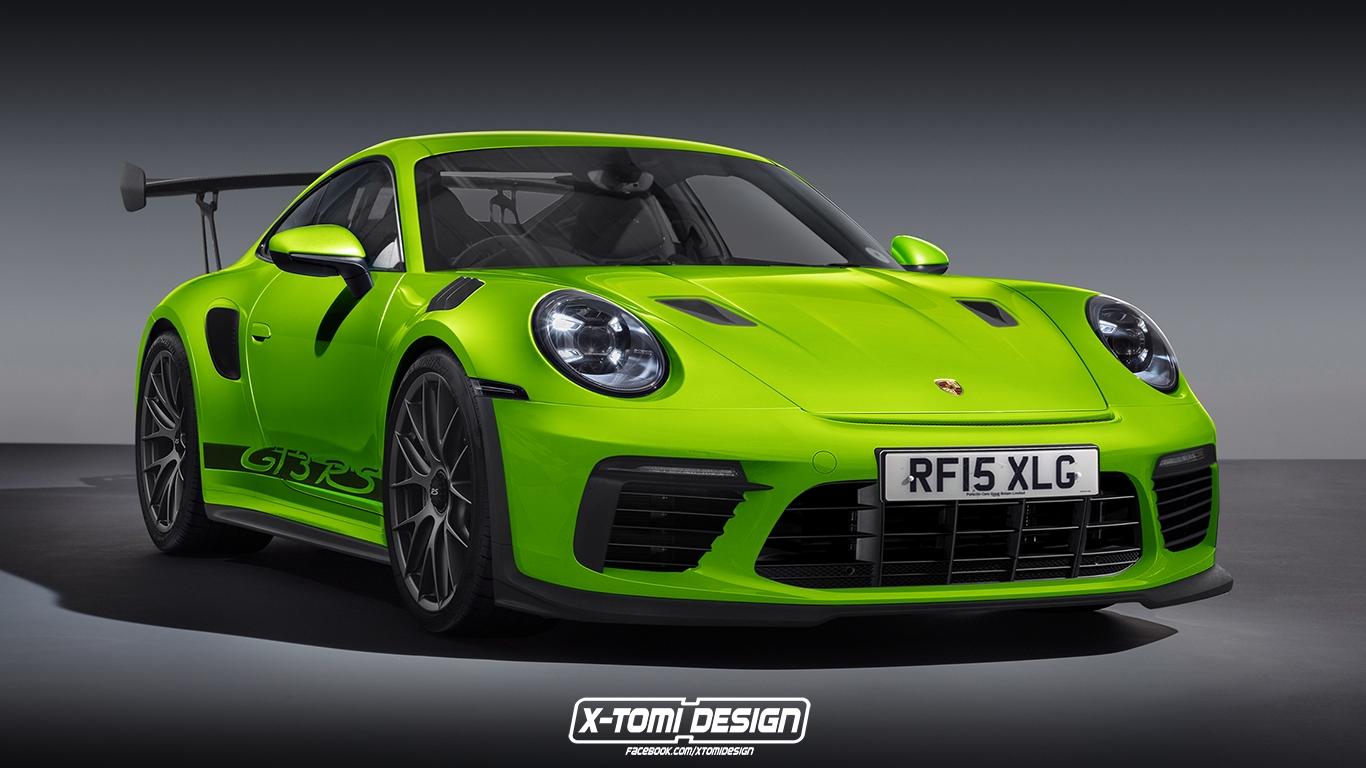 Porsche 911 gt3 rs 2020