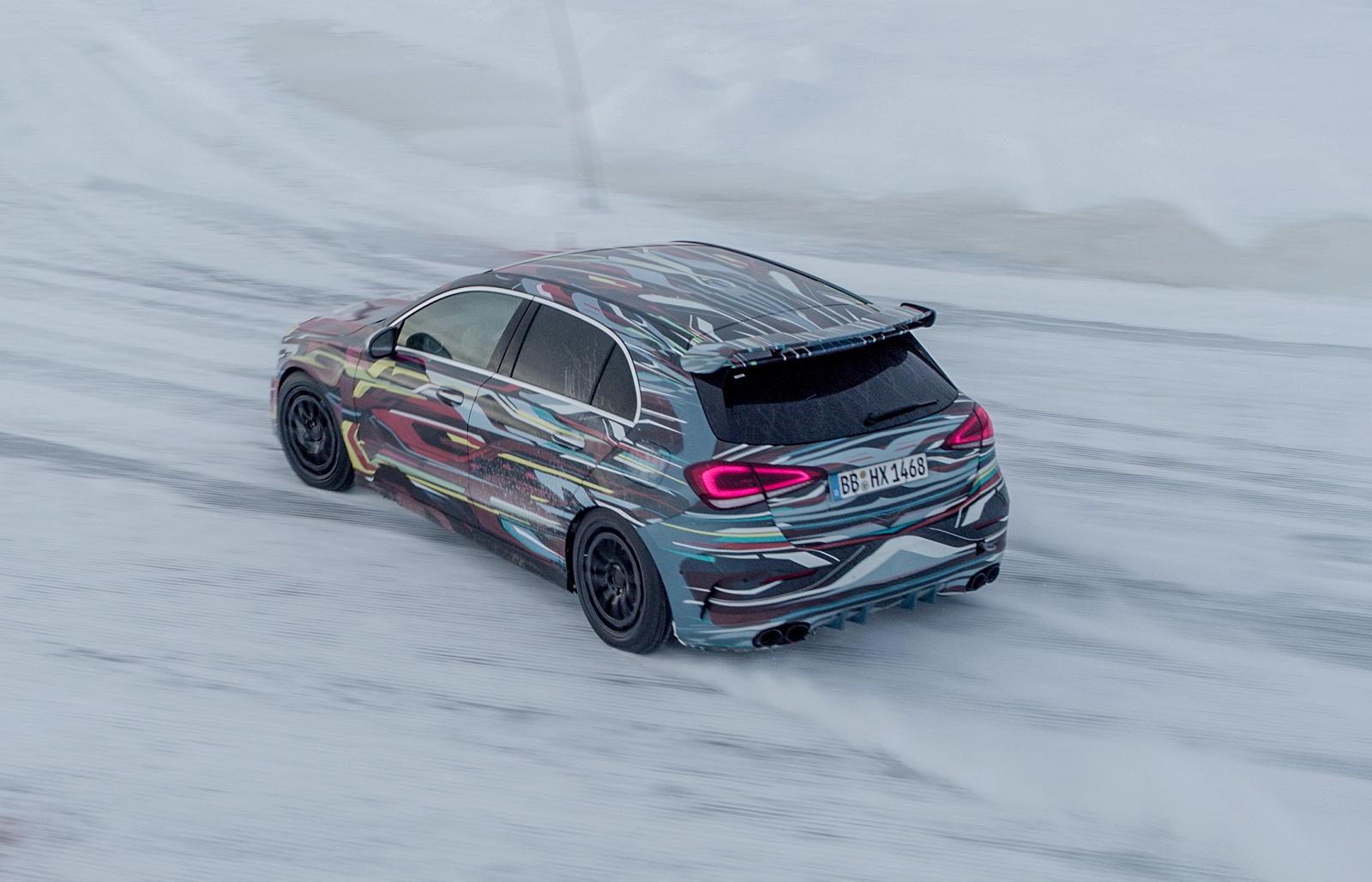 Erste Fahrt Im Neuen Mercedes Amg A45 2019 Trackdaysport