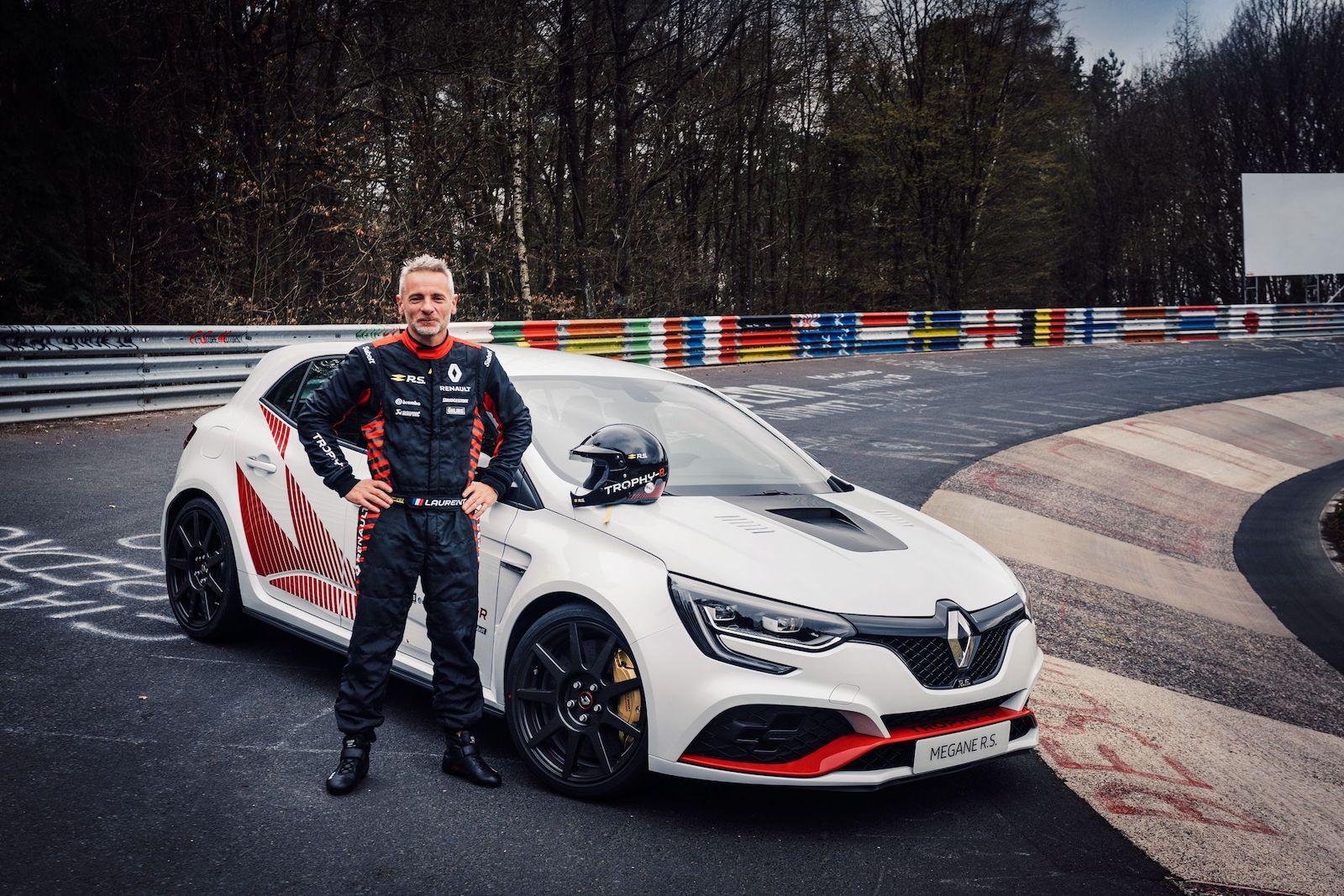 Renault Megane Rs Trophy R Mit Neuem Rundenrekord Fur Fronttriebler Auf Der Nurburgring Nordschleife Trackdaysport