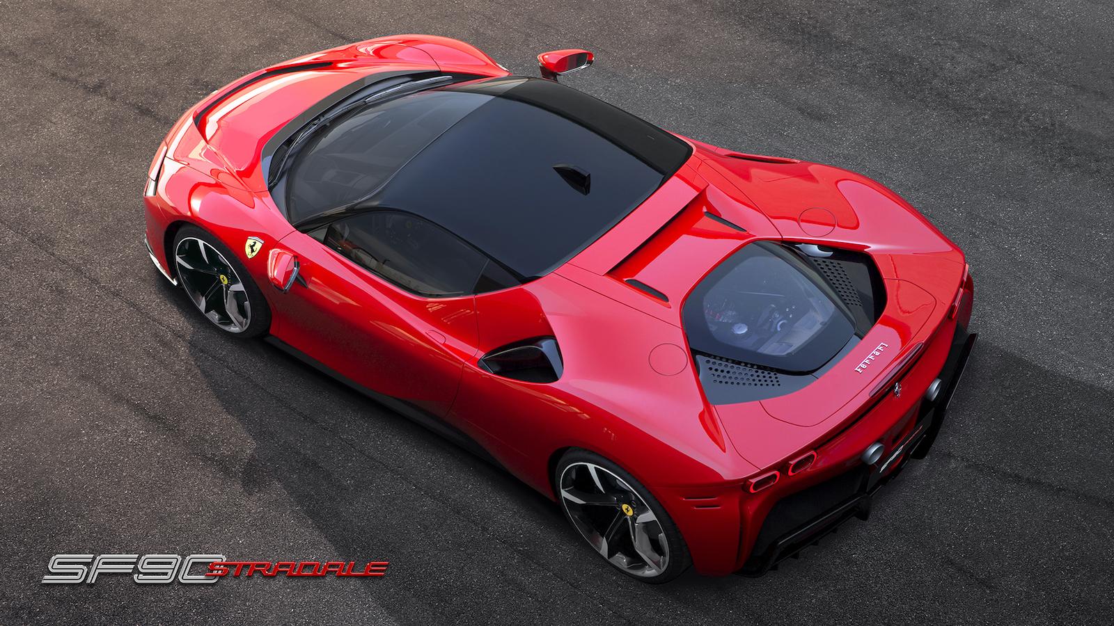 Das Ist Der Brandneue Ferrari Sf90 Stradale Trackdaysport