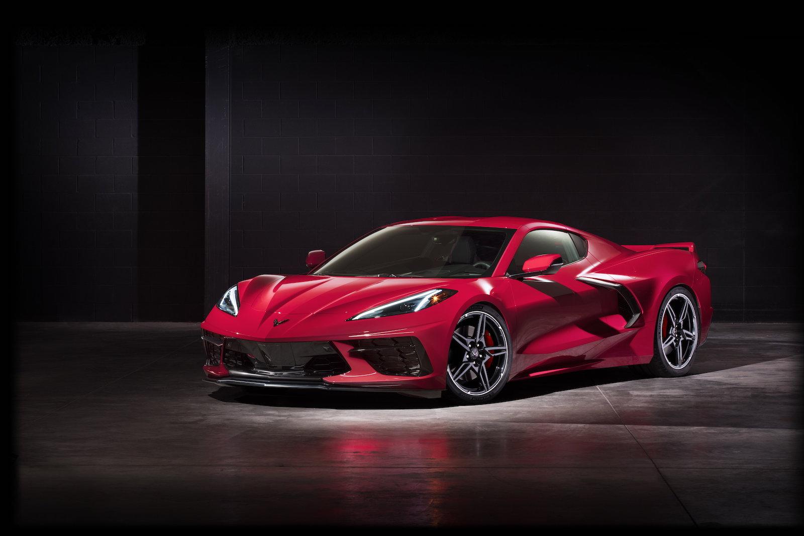 495 Ps V8 Saugmotor Und Mittelmotor Die Neue Corvette C8 Stingray 2020 Trackdaysport