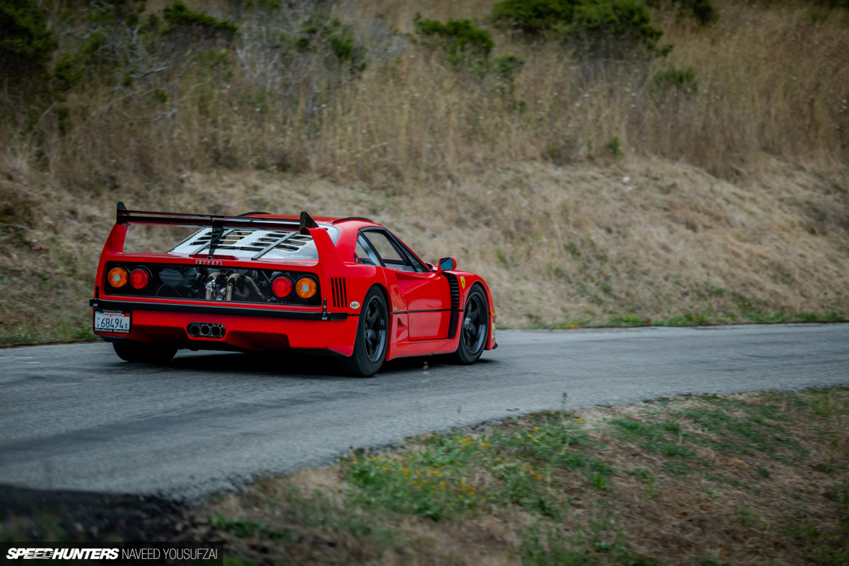 Amir Rosenbaums Ferrari F40 Die Geschichte Eines Besessenen Trackdaysport