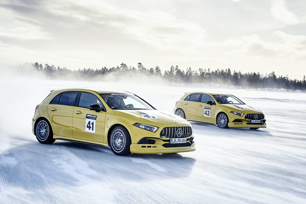 AMG Driving Academy und AMG Racetrack-Trainings